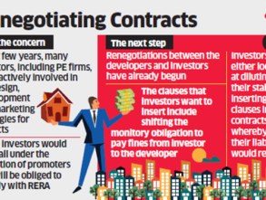 RERA Fears make PE firms and Tactical Investors Tweak Real Estate contracts